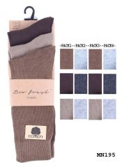 Mens plain suit bio fresh socks dress socks